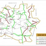 Road Map of Ekiti State