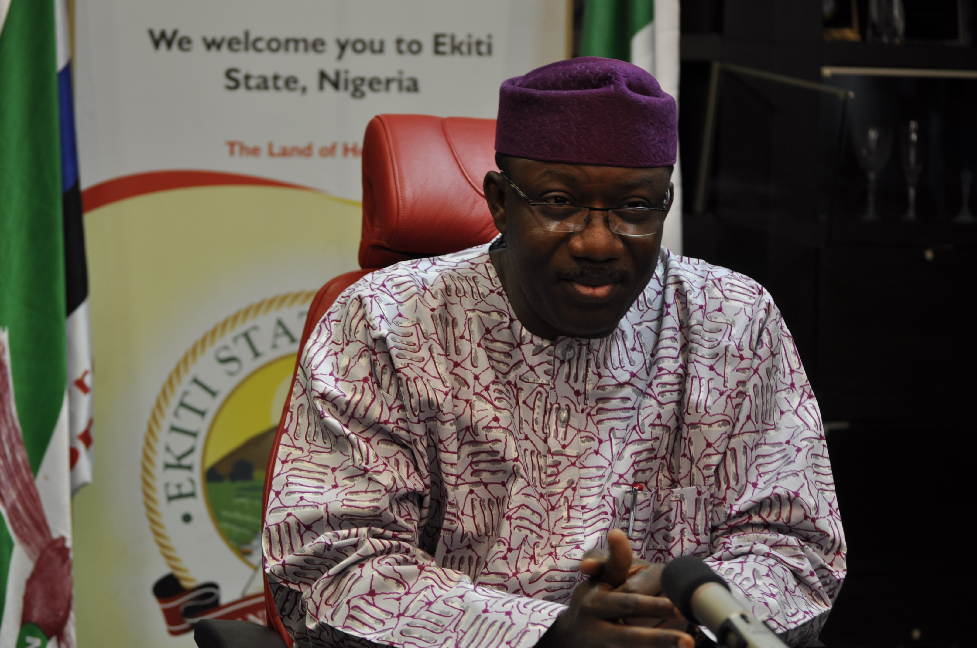 DSC5399 - Council Creation: Fayemi Receives Report, Sets Up White Paper Committee